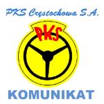 Logo PKS komunikat